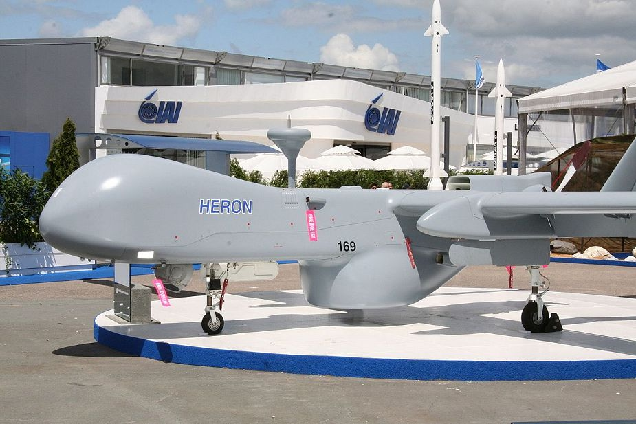German army could acquire soon Israeli Heron TP armed drone 925 001