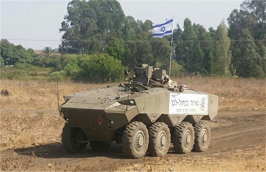 Israeli made Eitan 8x8 armored IFV will enter in service by 2020 with Israeli Army 925 001