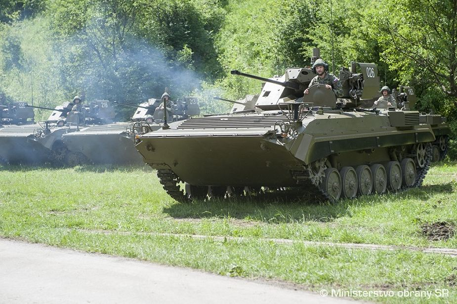 New upgraded version of BVP-2 IFV delivered to Slovak army