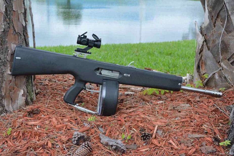 Sol Invictus Arms introduces AA 12 automatic shotgun 925 001