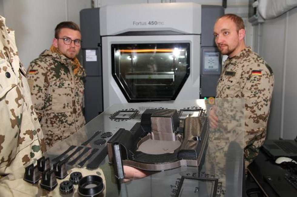 3D printers at the rescue in operations