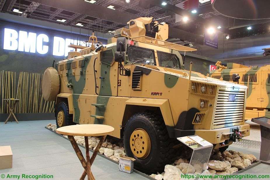 BMC from Turkey to produce Kirpi MRAP and Amazon 4x4 armored for Qatar 925 001