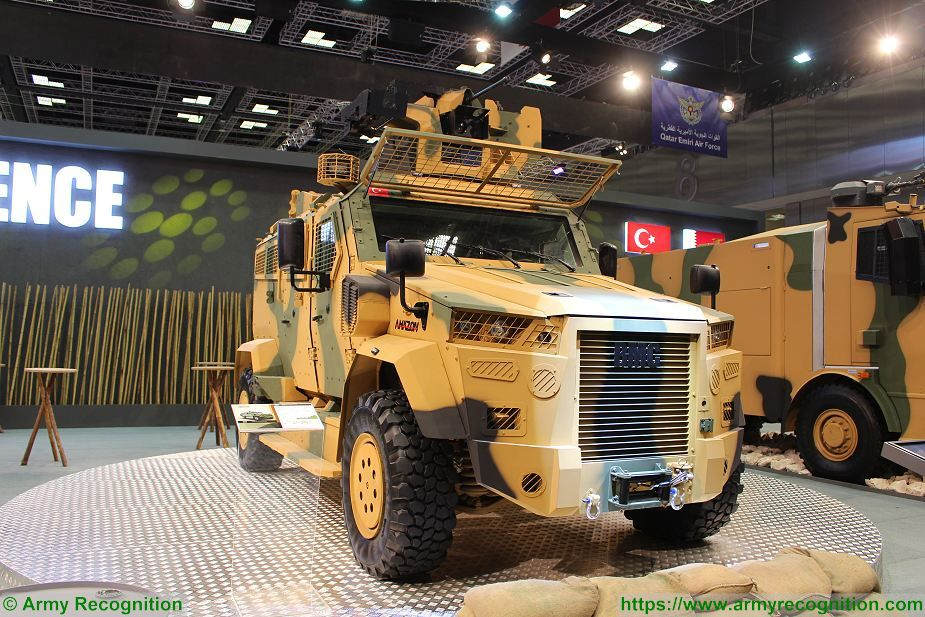 BMC from Turkey to produce Kirpi MRAP and Amazon 4x4 armored for Qatar 925 002