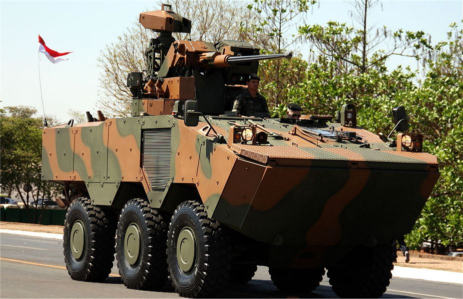 Brazilian army takes delivery of the 300th Guarani armored vehicle 925 001