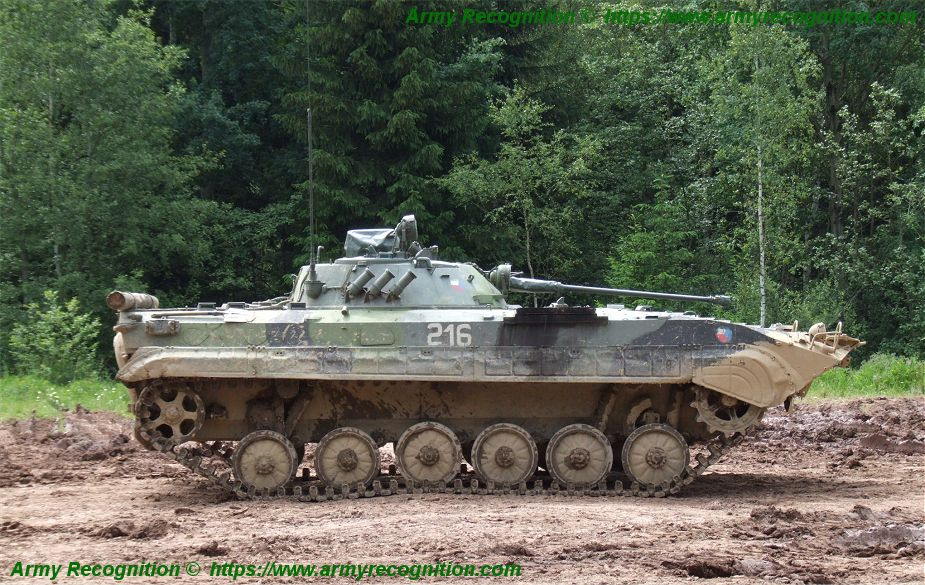 Czech Republic will start selection of manufacturers to replace BVP 2 IFV 925 001