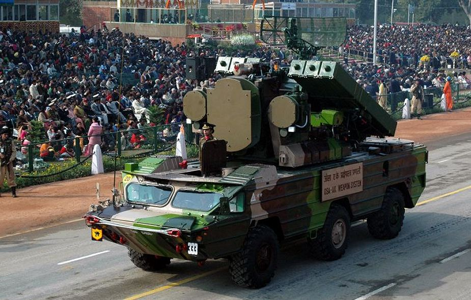 India needs to acquire new air defense missile system to relace Soviet made SA 8 925 001