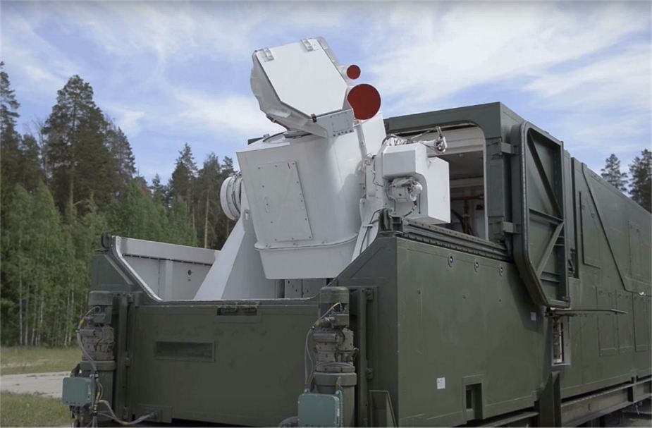Laser weapons operational in Russian armed forces 925 001