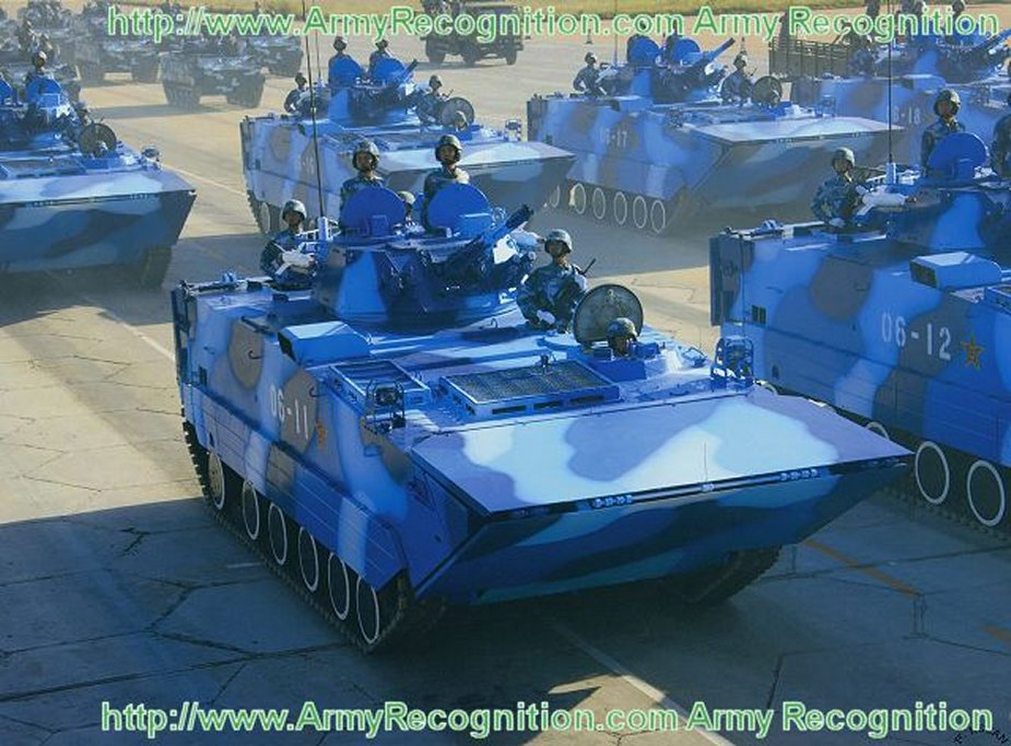 More NORINCO tracked amphibious APCs for the Chinese Marine Corps