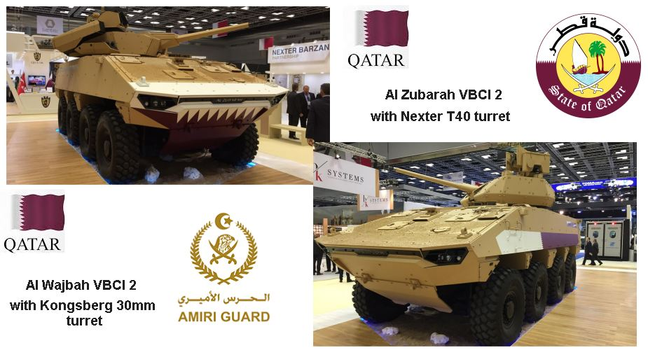 Partnership Bazan from Qatar and Nexter from France to procure VBCI 8x8 armored 925 001