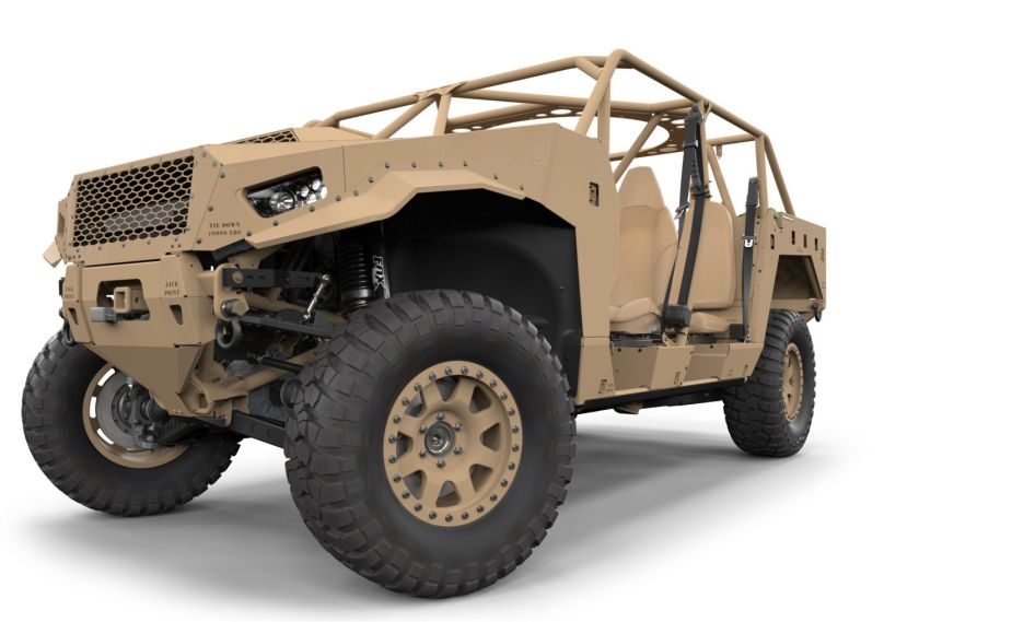 Polaris Government and Defense introduces new DAGOR A1 off road vehicle 925 001