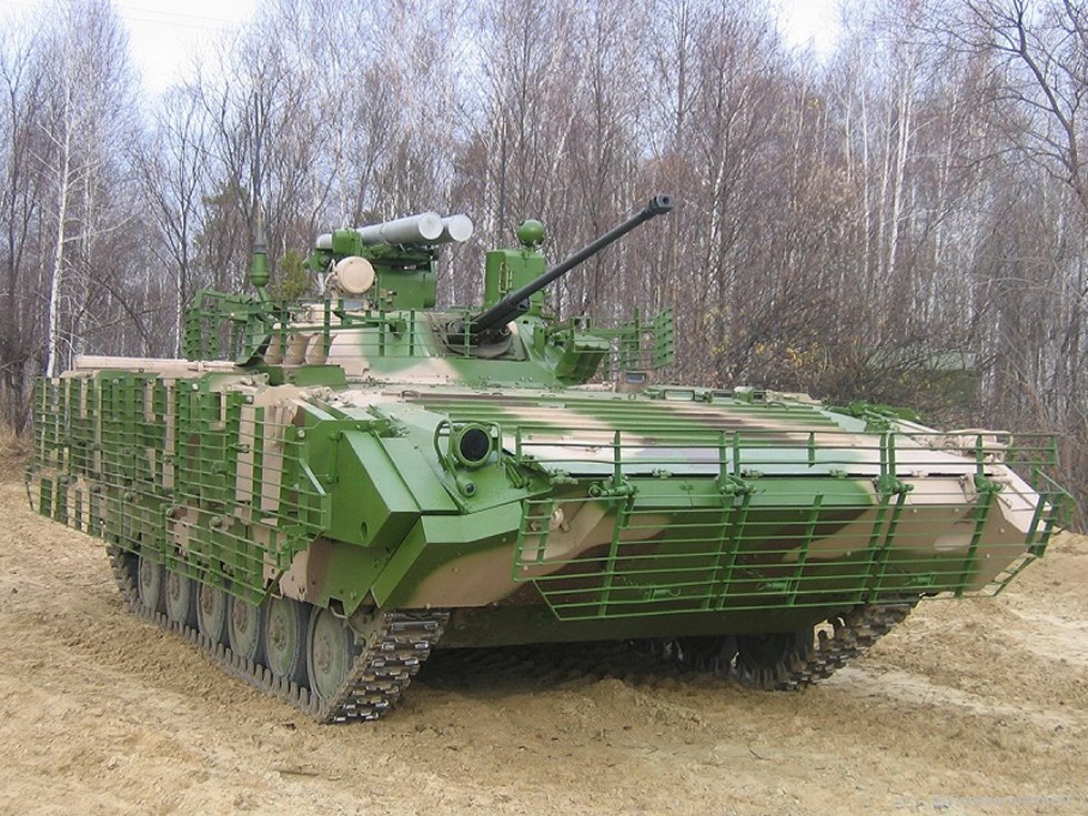 Russia Ural tank division receives upgraded IFV