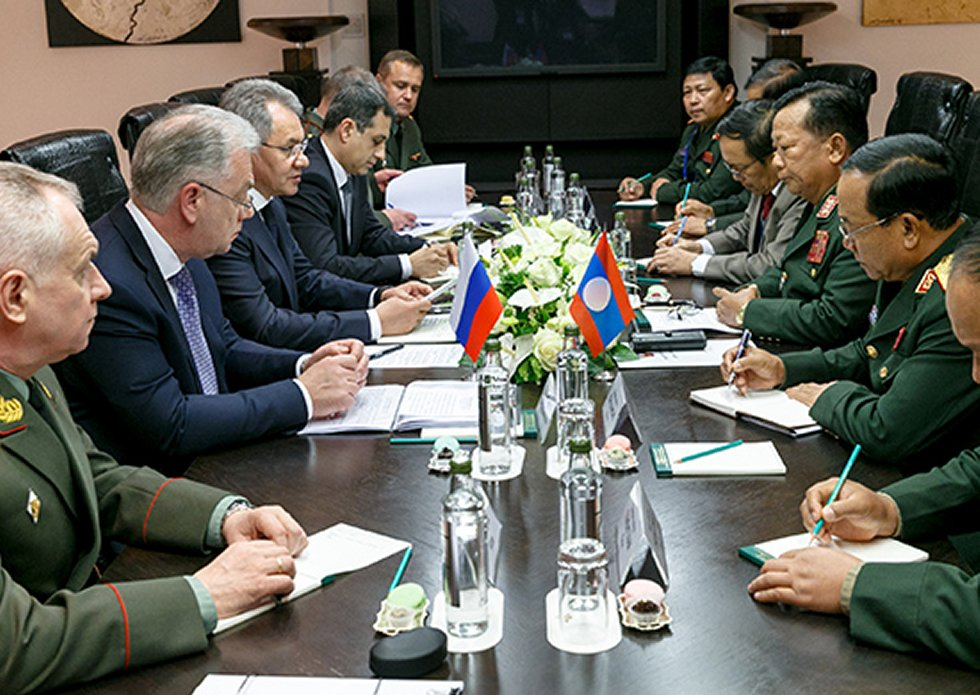 Russia strengthens military technical cooperation with Laos