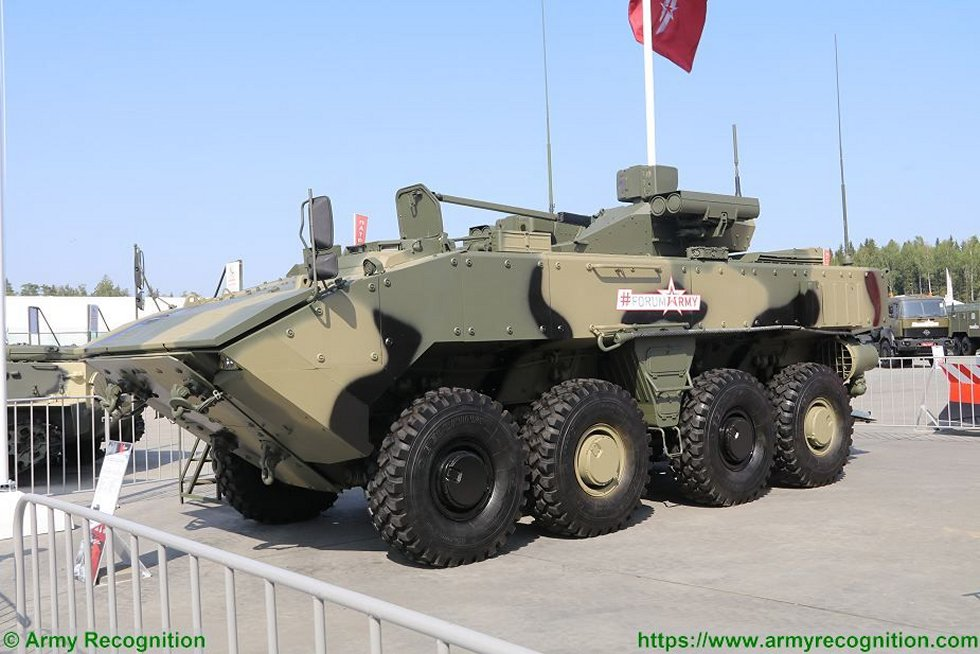 Russia to create self propelled antitank gun on Boomerang platform