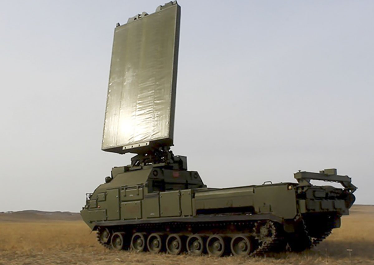 Russian Central Military District inducts Zoopark 1M counterbattery radars 001