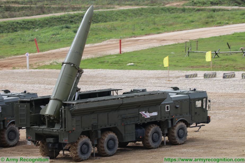 Russian Iskander E ballistic missiles delivered to Algeria