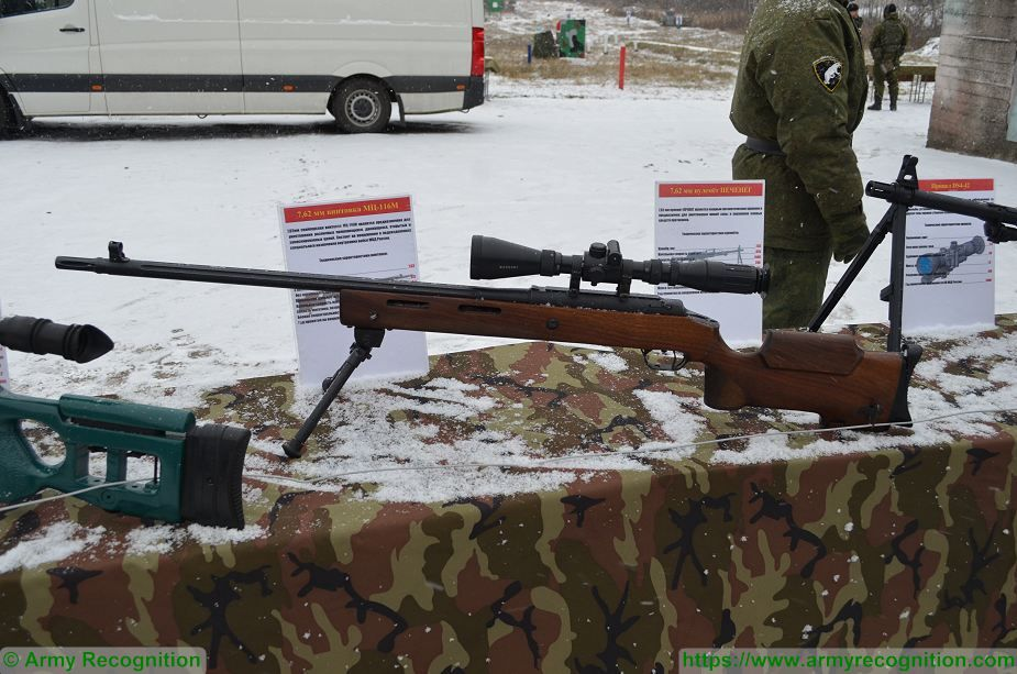 Russian firearms manufacturer unveils MTs 116M bolt action sniper rifle 925 001