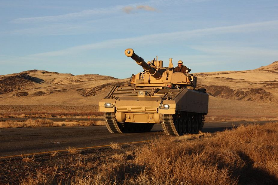 SAIC continues to test vehicle for US Army Mobile Protected Firepower program 925 001