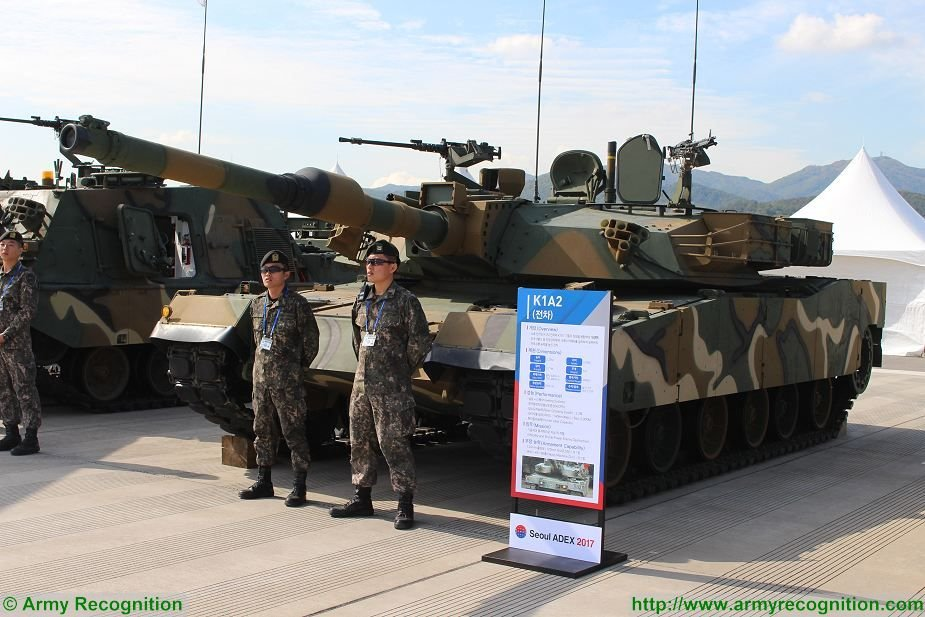 South Korea good news about the K1 K1A1 and K1A2 MBTs