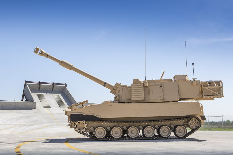 US Army long range precision fire capabilities modernized firepower