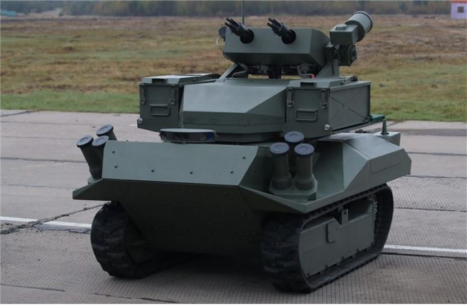 Belarus has developed the Bersek UGV Unmanned Ground Vehicle 925 001