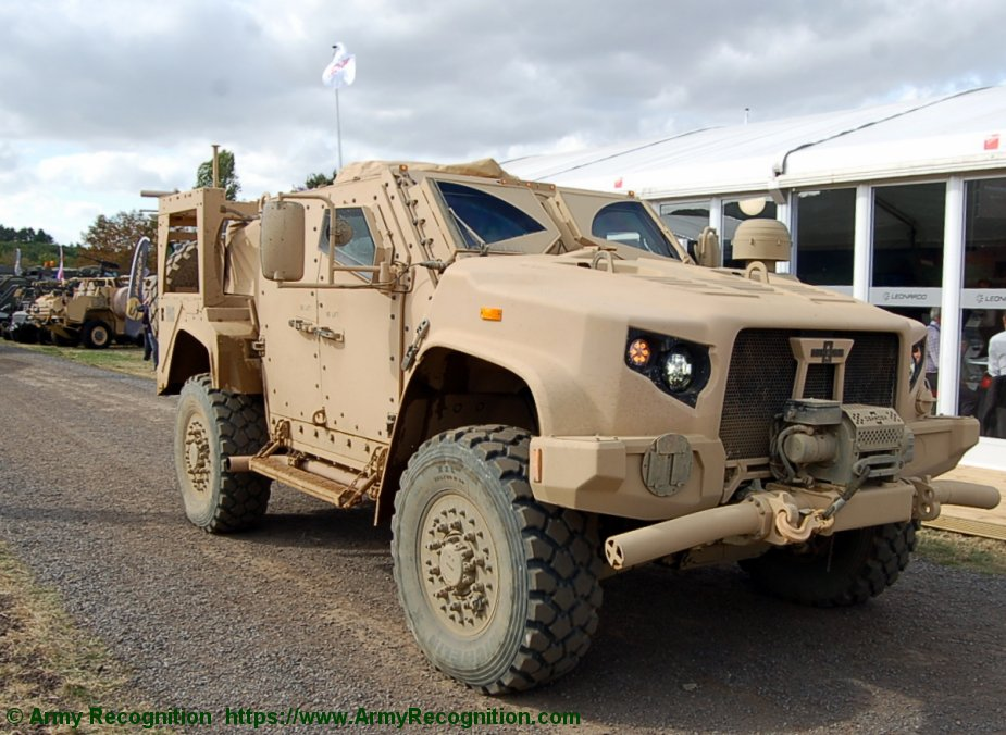 Oshkosh Defense JLTVs for Slovenian army