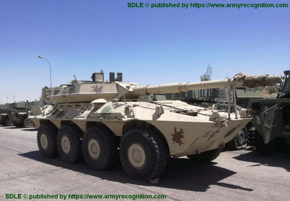 SDLE from Spain to modernize Centauro 105mm for Jordanian army 925 001