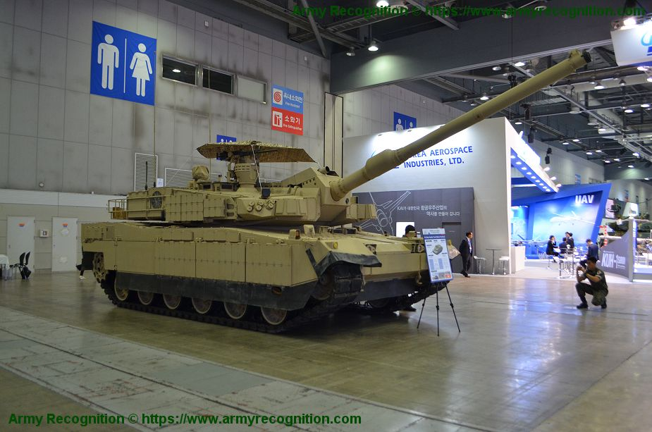 South Korea could sell 72 K2 main battle tanks to Oman 925 001