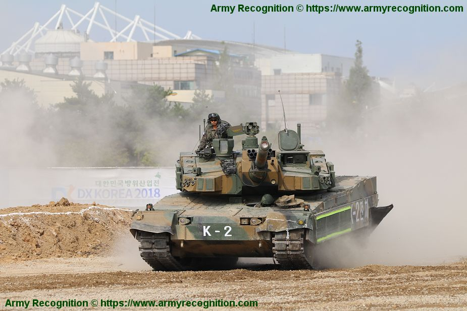 South Korea could sell 72 K2 main battle tanks to Oman 925 002