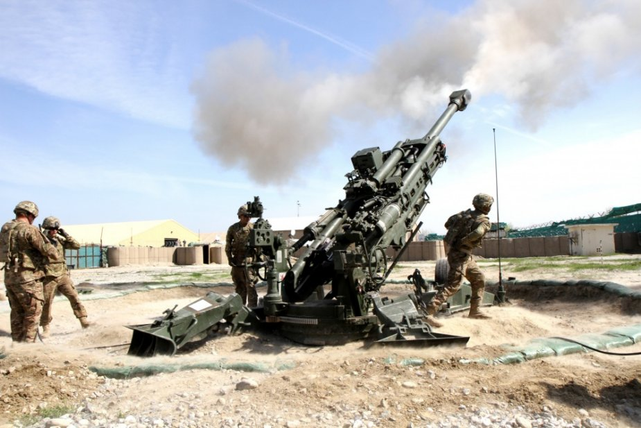 Taiwan to buy M777A2 howitzers