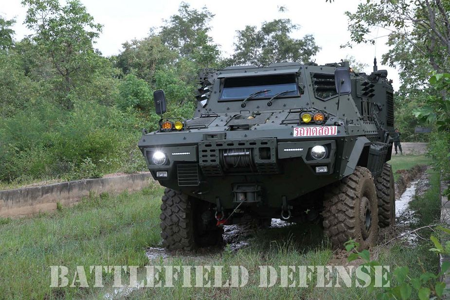 Thailand demonstrates new 4x4 AFV 420P Mosquito armored fighting vehicle 925 002