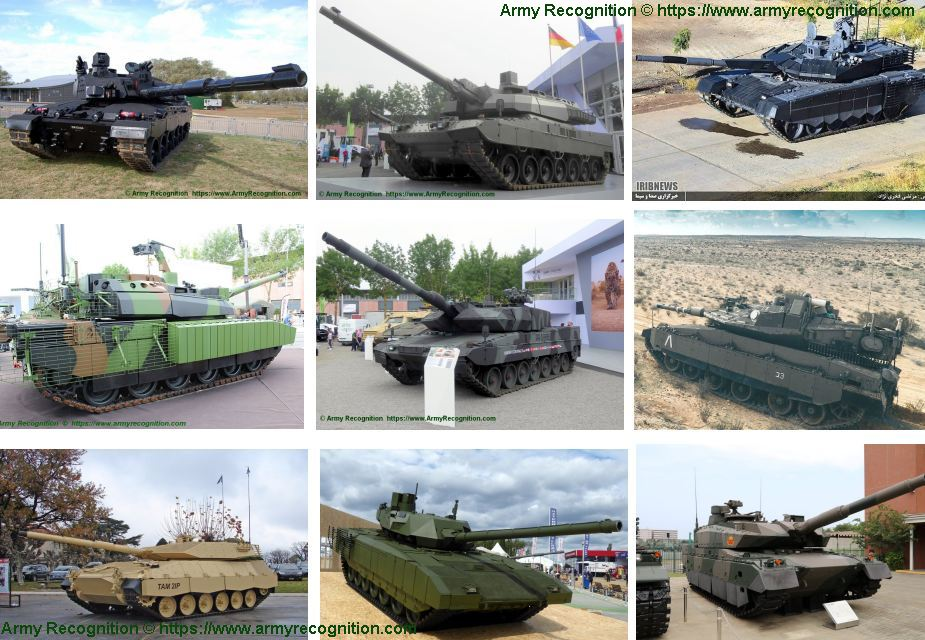 Top 15 most modern main battle tanks MBTs in the world analysis 925 001