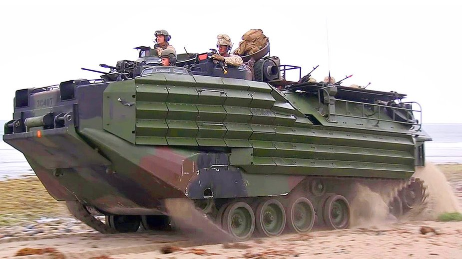 BAE Systems delivers 20 AAV 7A1 amphibious assault vehicles to Brazilian marine corps