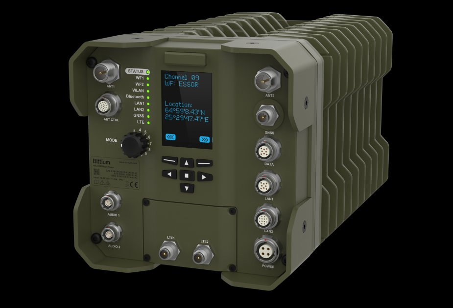 Bittium to supply tactical radios to pilot phase of Spanish VCR 8x8 vehicle programme