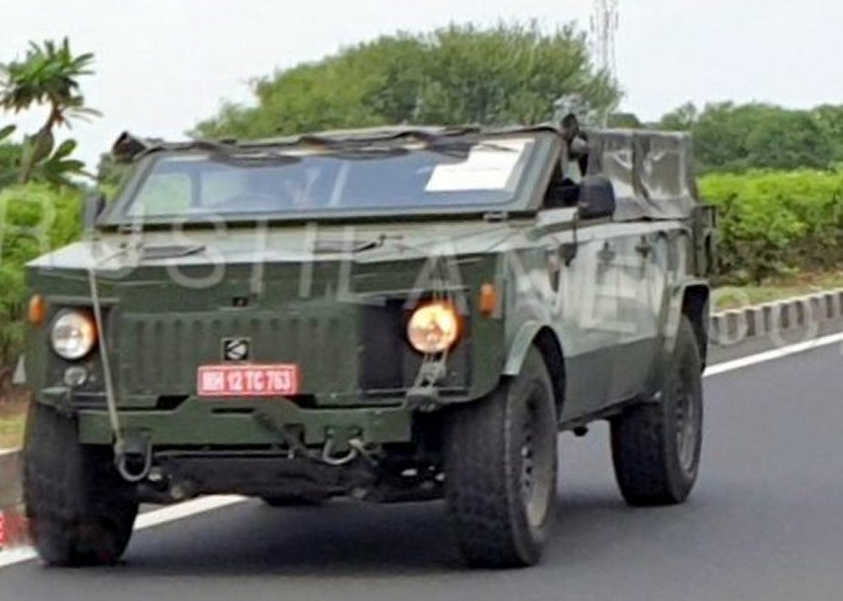India Kalyani Light Strike Vehicle tested for the Army 2