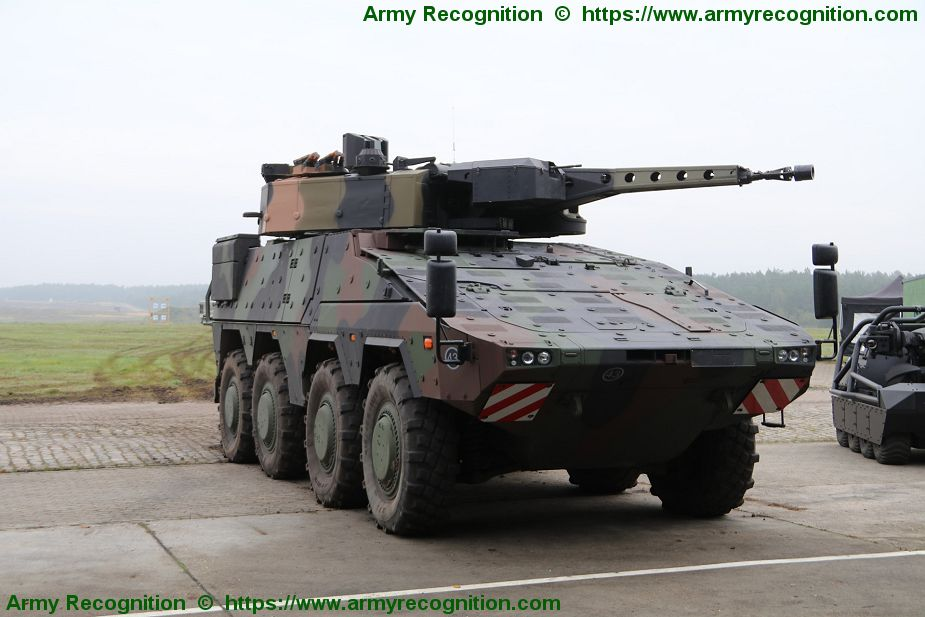Major step for British MoD to supply Boxer 8x8 armored vehicle to British army 925 001