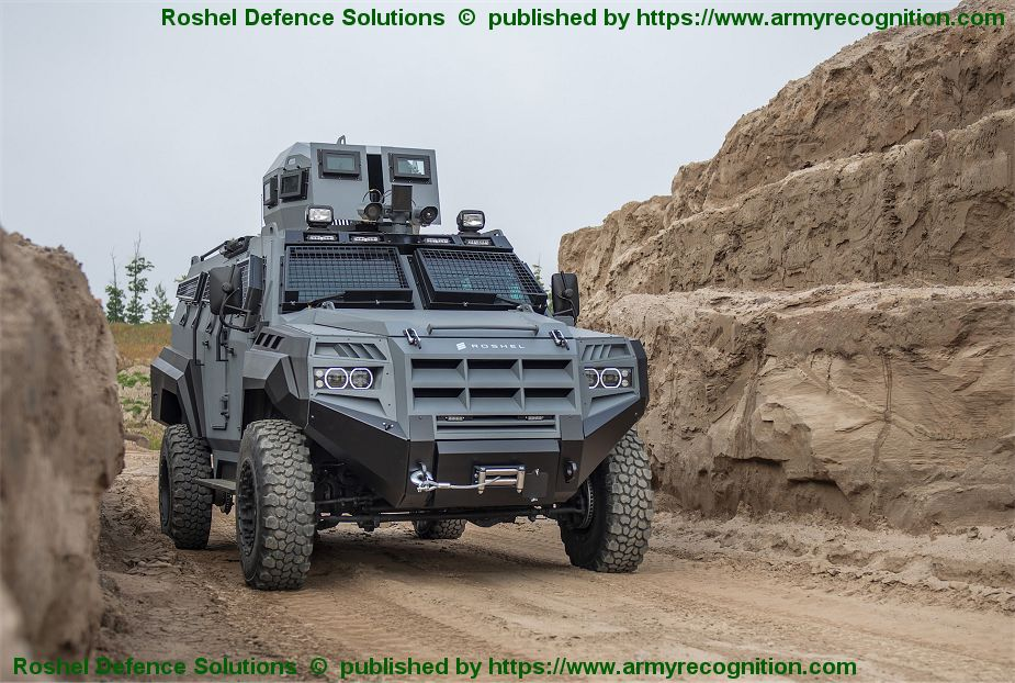 New SENATOR 4x4 Armored Rescue Vehicle APC from Roshel Defence Solution of Canada 925 001