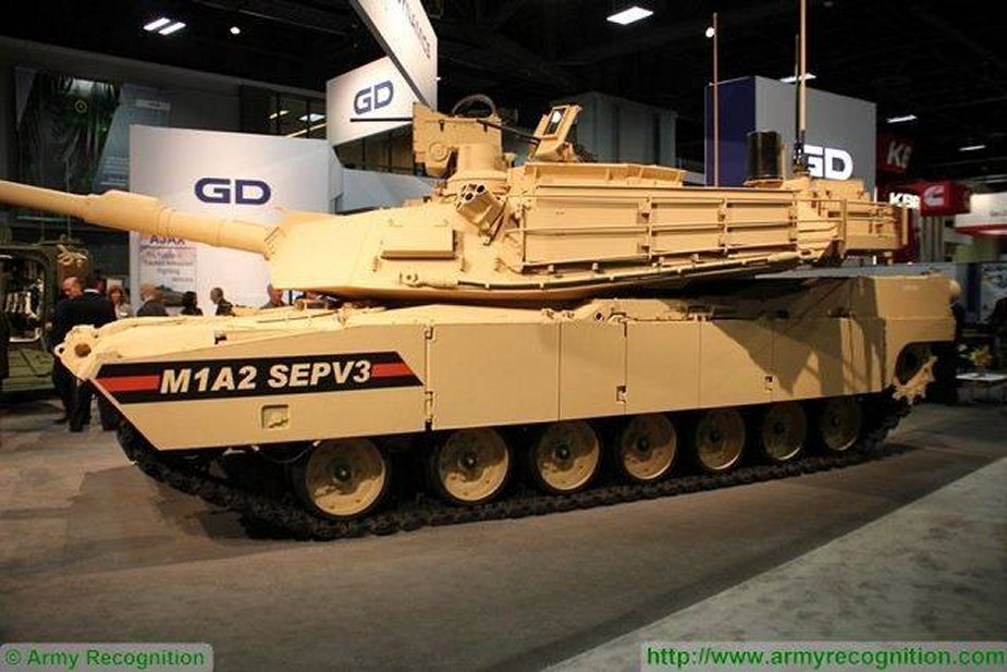 New designations for upgraded M1A2 SEPv3 and SEPv4 Abrams main battle tanks