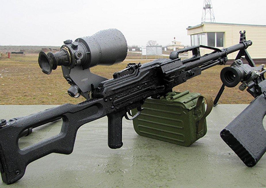 Russian PKP Pecheneg 6P41 gunfire is twice more efficient than PKM
