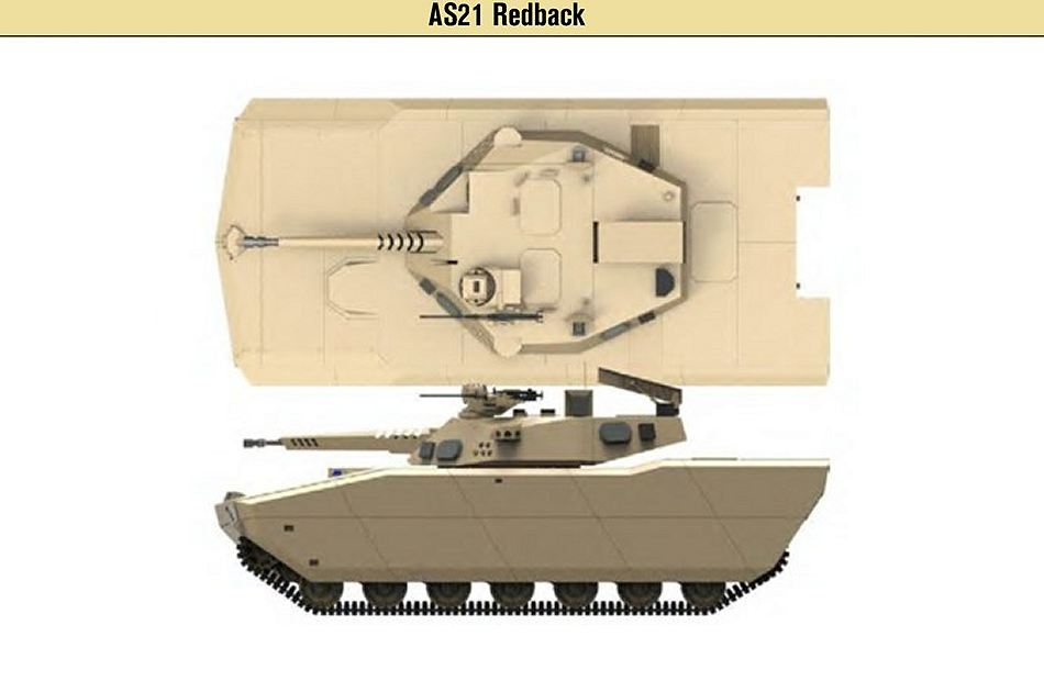 South Korea offers AS21 Redback tracked armored IFV to replace Australian M113AS4 925 001