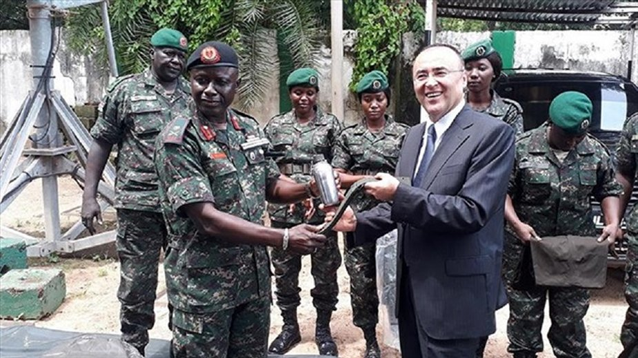 Turkey donates military hardware to Gambia