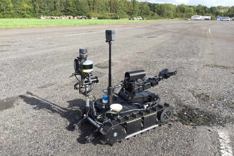 UK tests life saving chemical detection robots and drones