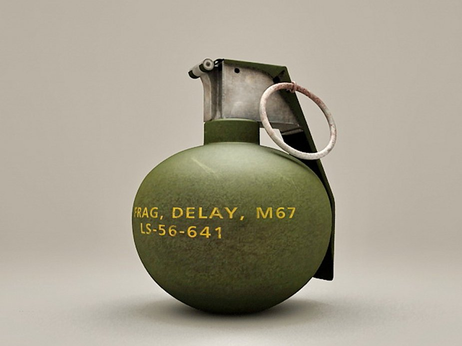US Army purchases M67 fragmentation hand grenades | September 2018