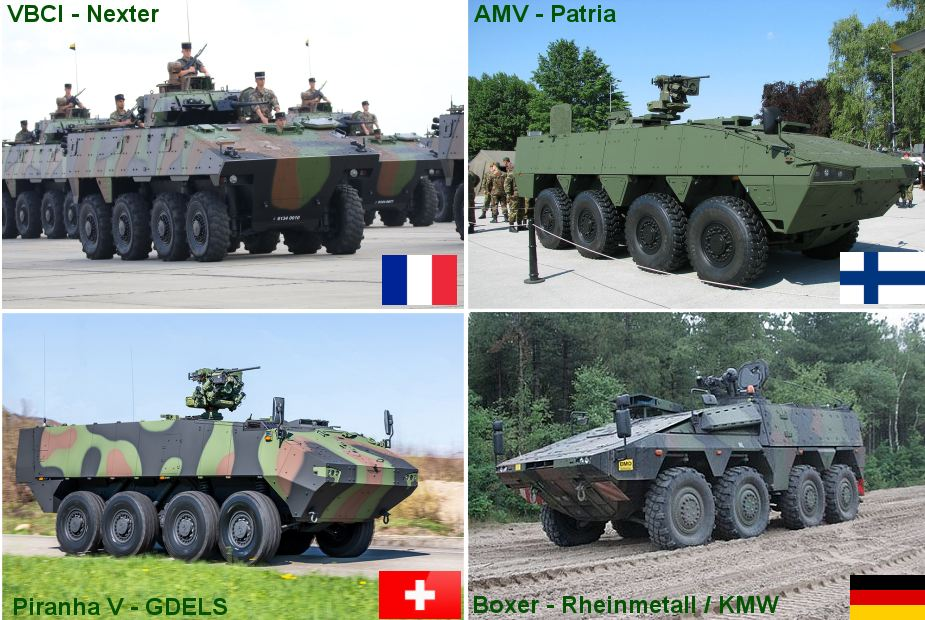 Bulgarian Defence Ministry invites four companies to bid to supply armoured vehicles