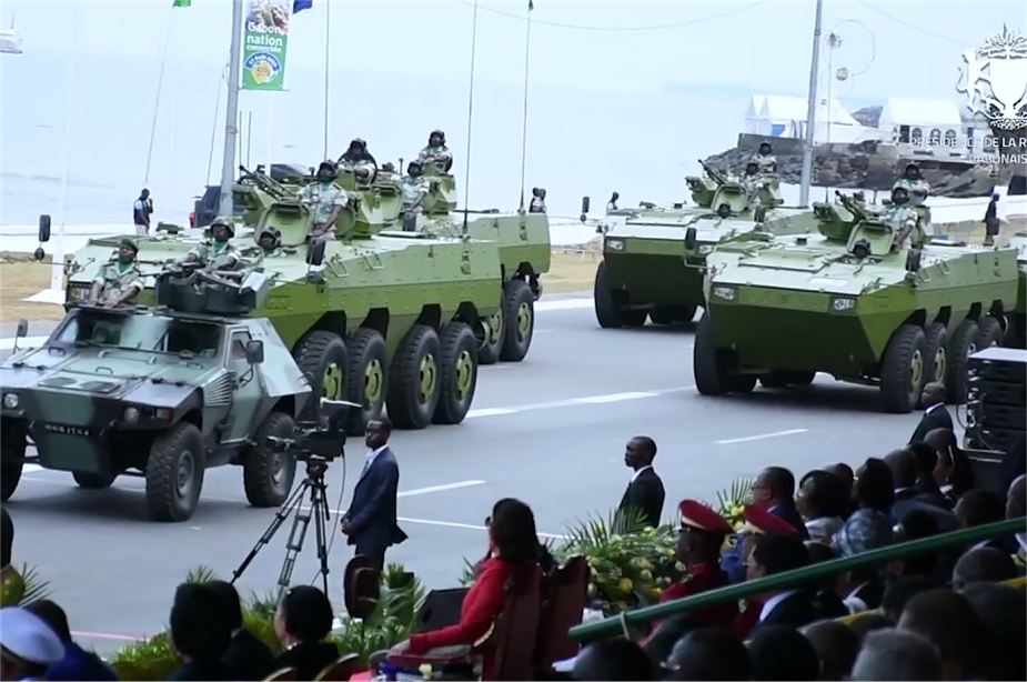 Chinese made VN1 8x8 armored vehicle in service with Gabonese army 925 001