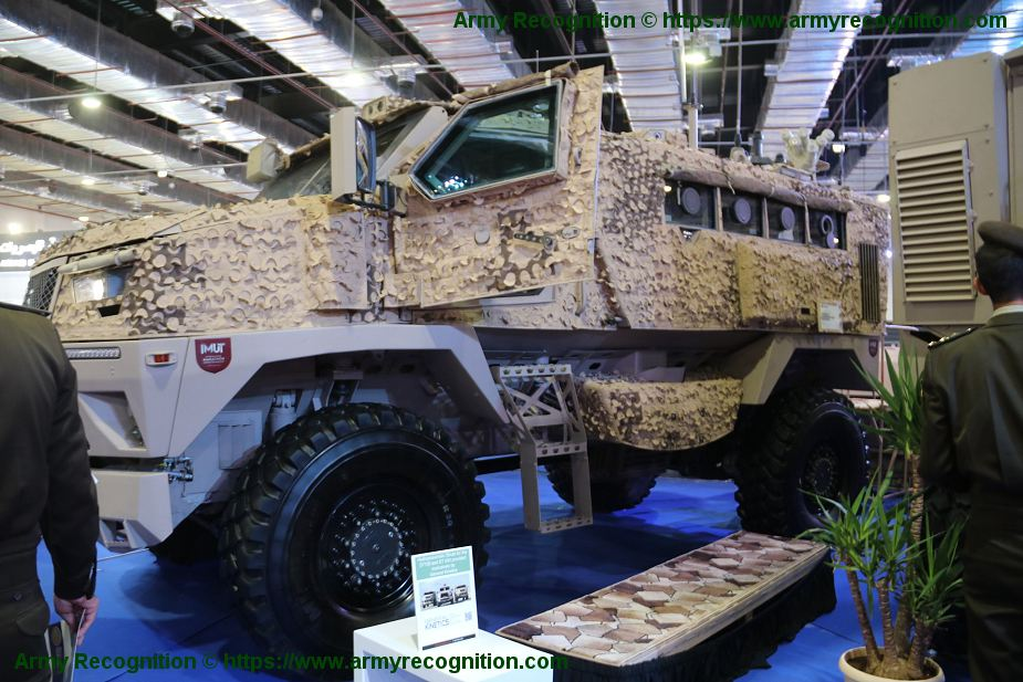 Egypt could sell ST 100 4x4 MRAP armored vehicles to United Araba Emirates 925 001