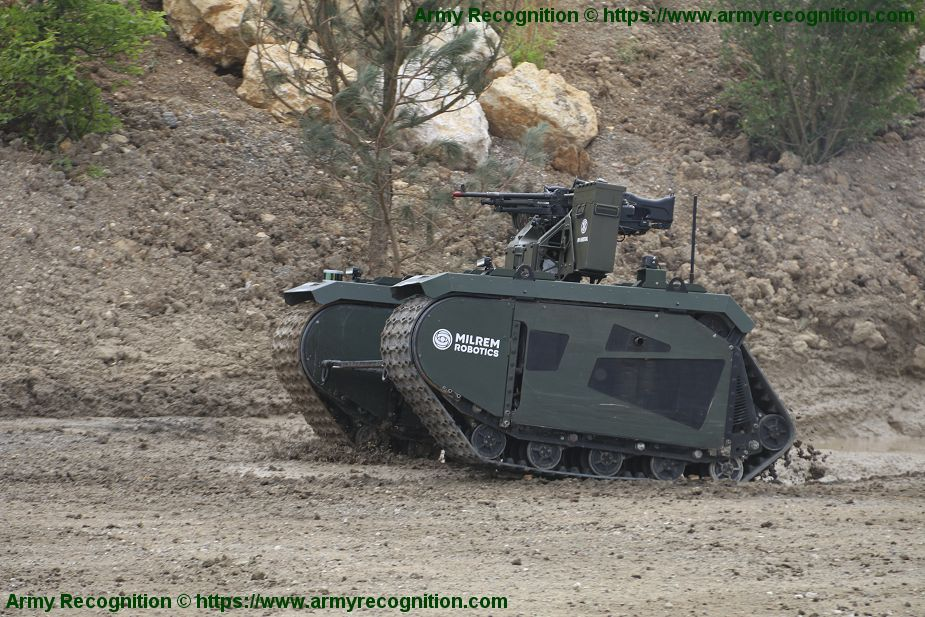 Estonia in collaboration with European countries to develop Modular Unmanned Ground Systems 925 001