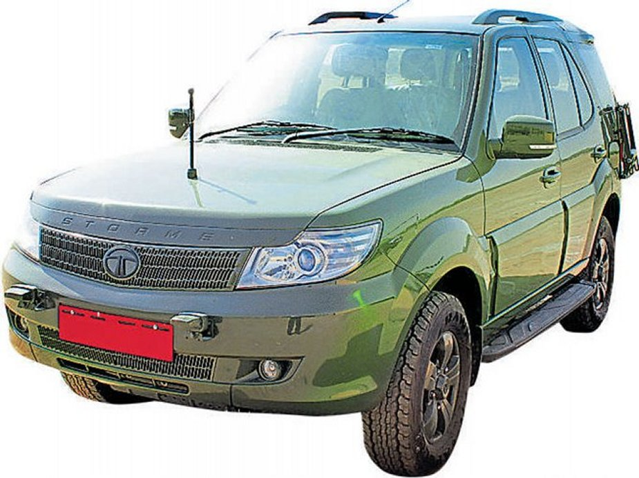 Indian army hands over 10 Tata Safari Storme SUVs to Myanmar army
