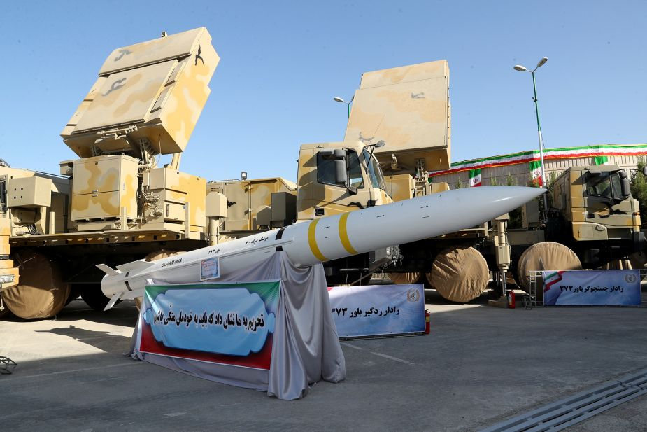 Iran has test fired a new missile 925 002