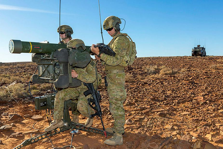 SAAB contract for the support of RBS 70 and Giraffe radar for Australian army 925 001