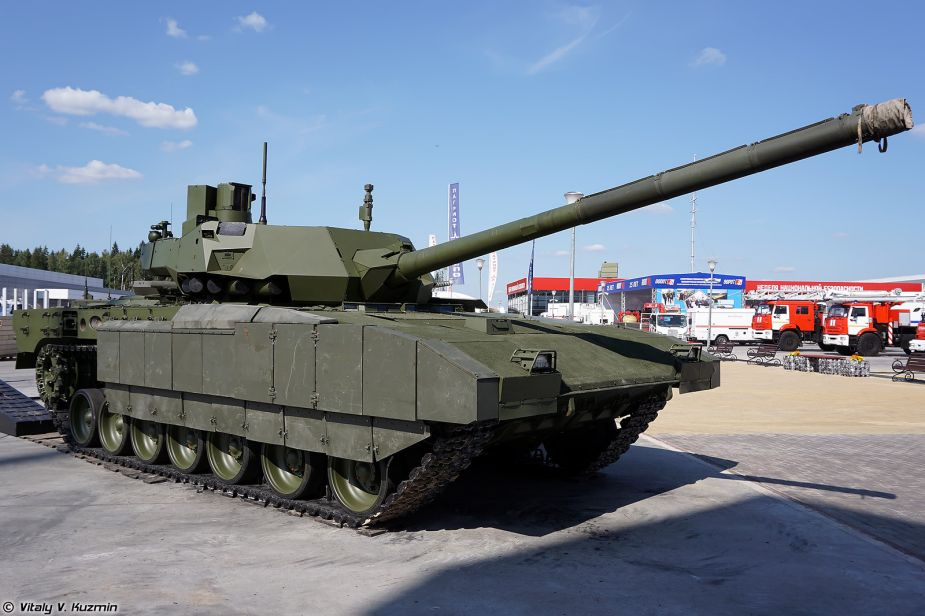 Unmanned main battle tank can be created on Armata platform 925 001